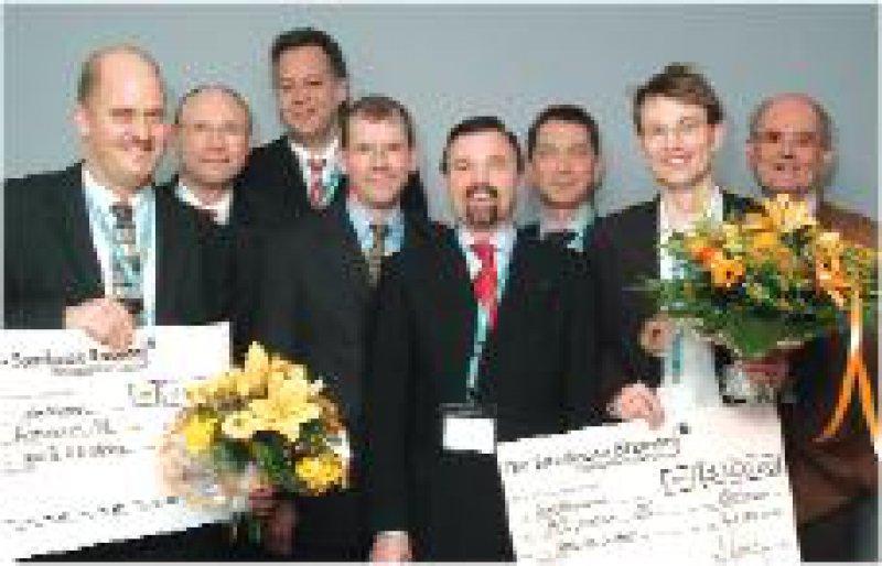 Holger K. Eltzschig,Werner Kuckelt, Klaus Lewandowski, Jens Scholz, Klaus Mokros (Fresenius AG), Ralf Kuhlen, Jürgen Graf, Klaus Hankeln (von links) Foto: privat