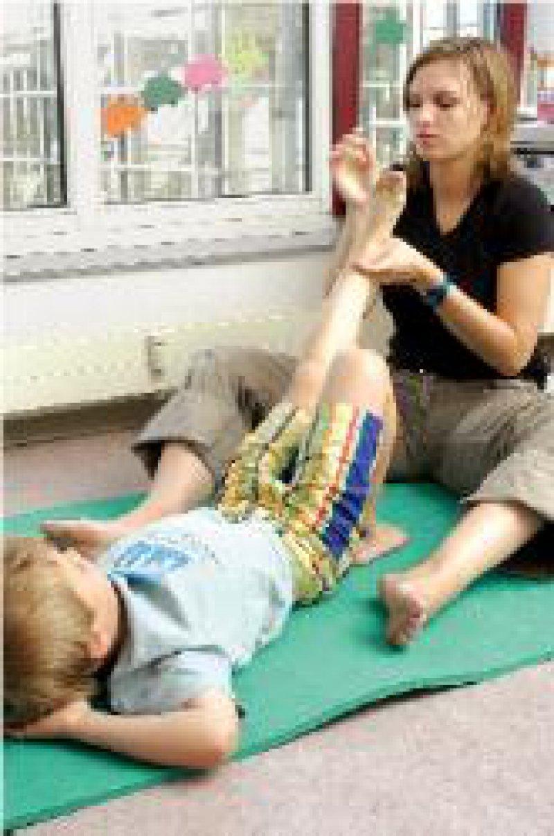 Foto: Peter Wirtz Ergotherapie: Wissenschaftler bezweifeln, dass dieses Heilmittel vorzugsweise für Kinder geeignet ist.