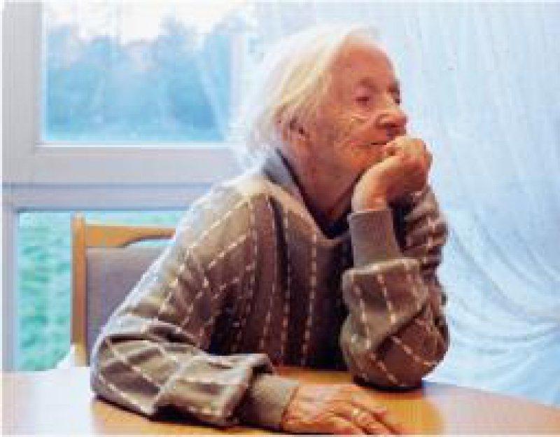 Epidemiologie: Mehr als 30 Prozent der über 90-Jährigen sind demenzkrank. Foto: Kompetenznetz Demenzen