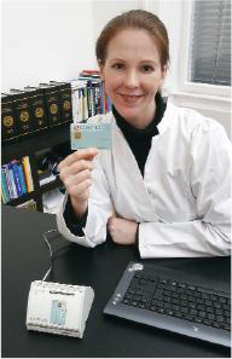 Über das e-card-System erfolgt die Anspruchsprüfung des Versicherten. Foto: Siemens Österreich