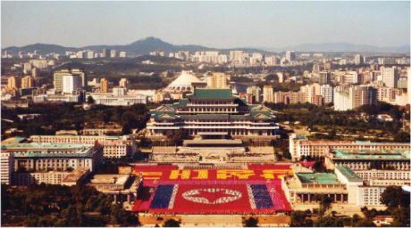 Pjöngjang: Lebende Bilder zu Ehren der Partei Fotos (2): Norbert Jachertz