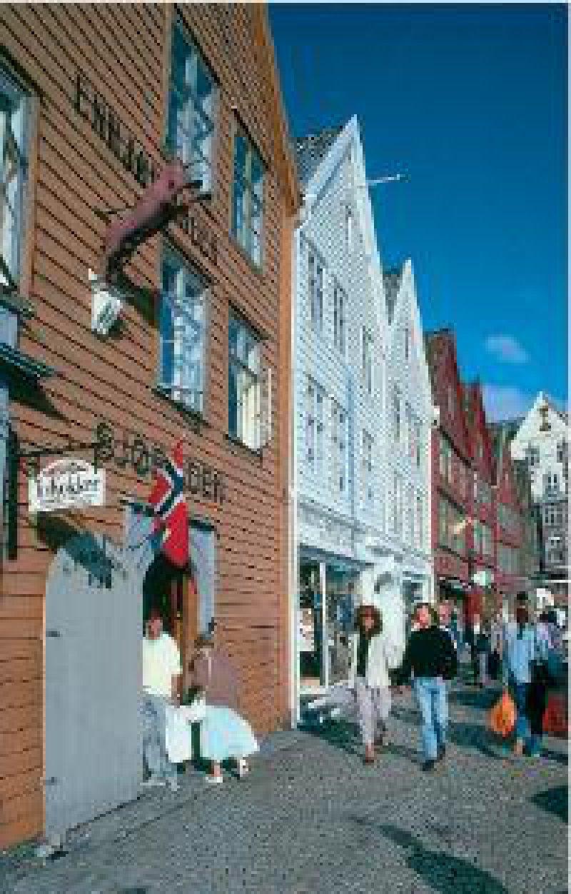 Das Hanseviertel in Bergen Fotos: Rainer W. Hamberger