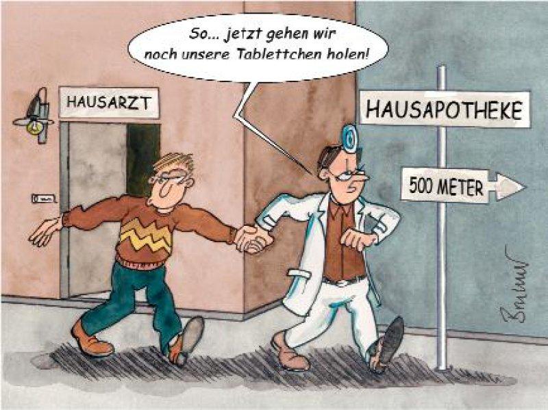 Karikatur: DÄ, Heft 11/2005