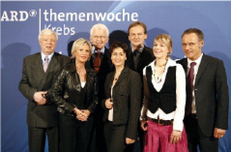 Viel ARDProminenz bei der Präsentation des Projekts Foto: © NDR/Dirk Uhlenbrock