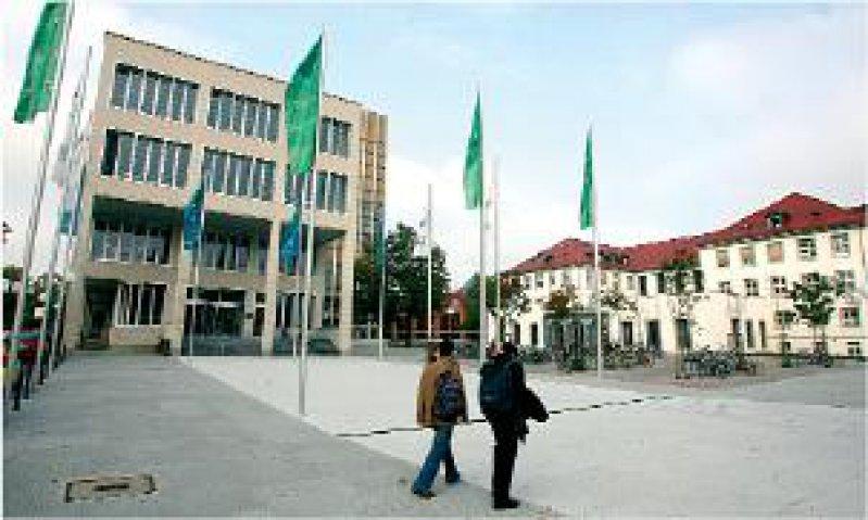 Leuchtturm der Wissenschaft: Die Universität Karlsruhe wurde neben der LMU und der TU München ausgezeichnet. Foto: dpa