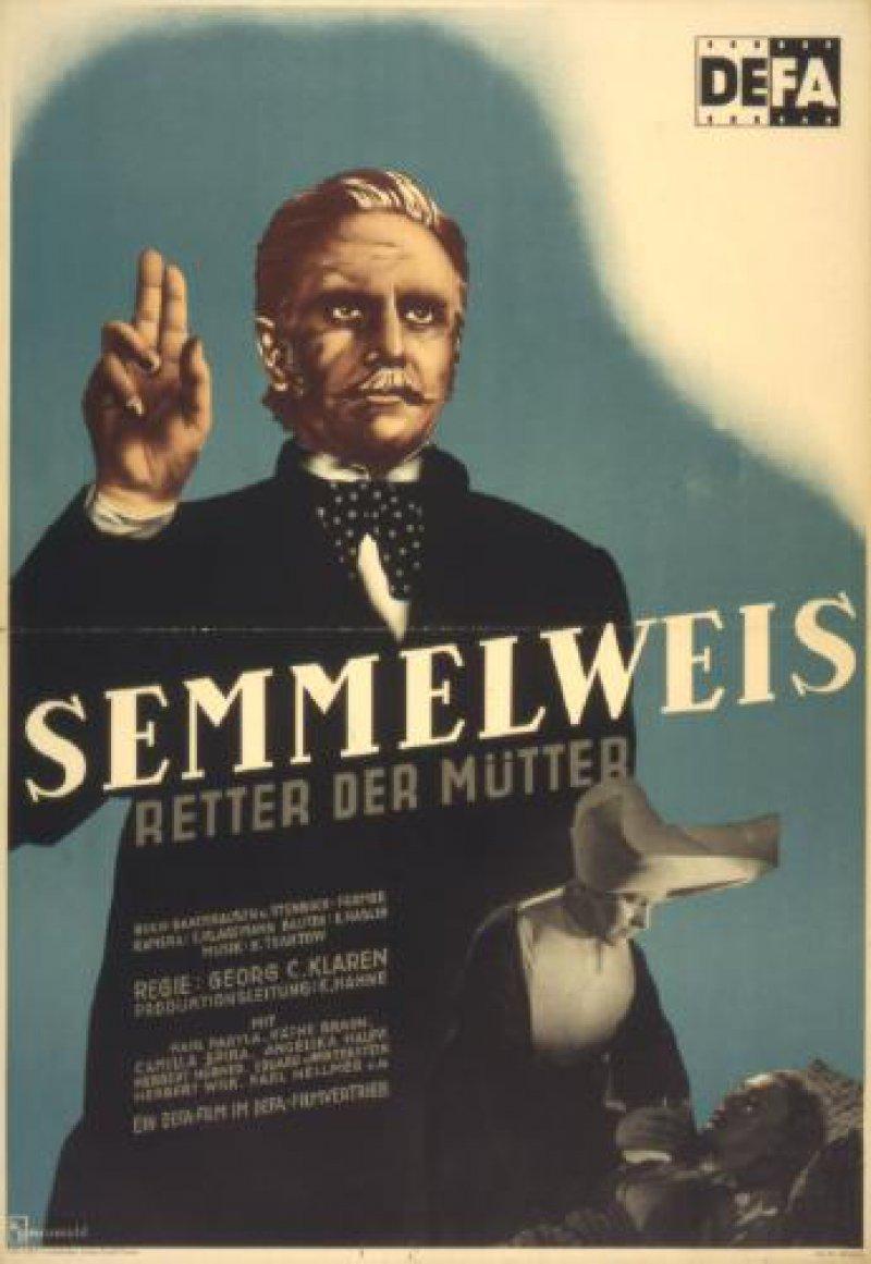 Retter der Mütter: Semmelweis bot Stoff fürs große Kino der 50er-Jahre. Foto: DHM