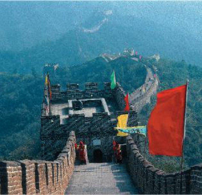 Wahrzeichen Chinas: Es ist der Traum vieler Chinesen, einmal im Leben die Große Mauer zu besteigen. Foto: Marco Polo Reisen