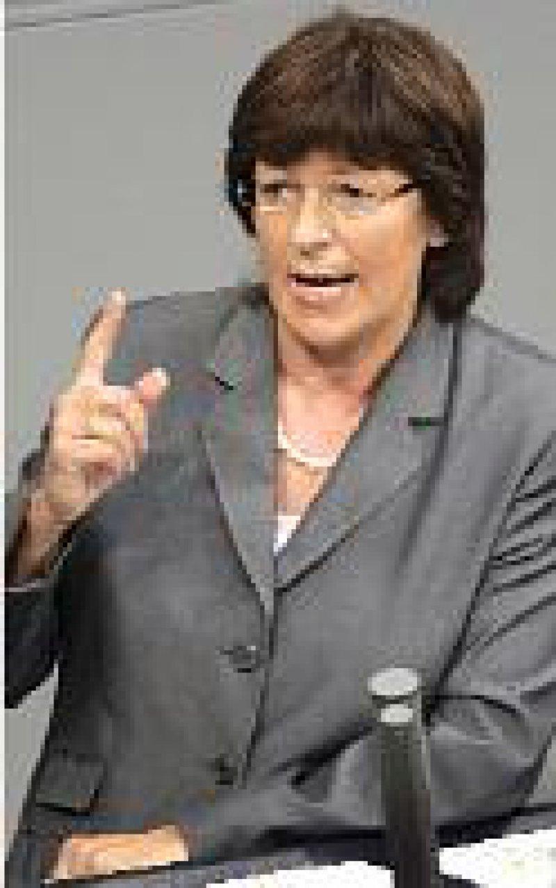 Besitzstandswahrung warf Ulla Schmidt ihren Kritikern vor. Foto: dpa
