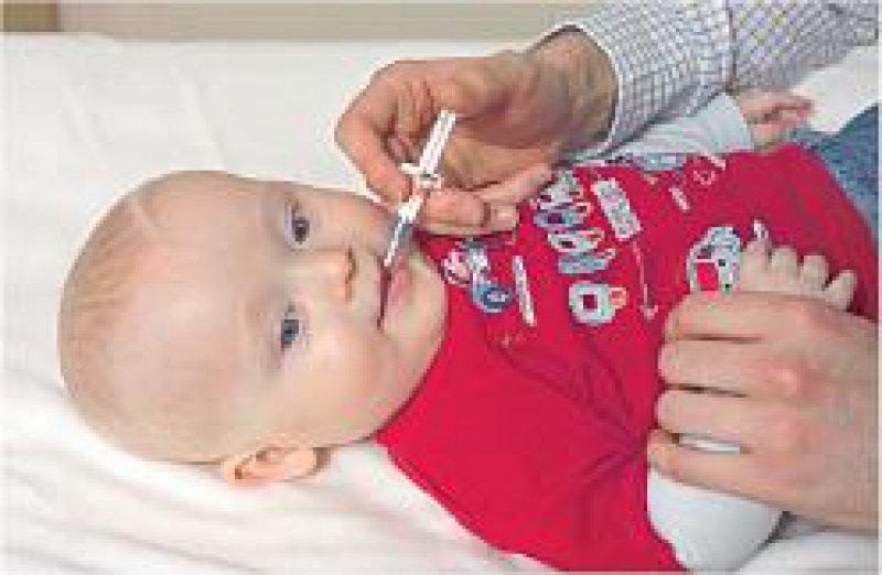 An Brechdurchfall durch Rotaviren erkranken in Deutschland jedes Jahr mehr als 10 000 Kinder im Alter unter vier Jahren. Foto: Sanofi Pasteur MSD