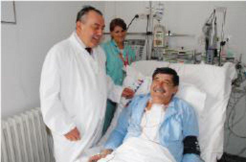 Herzenssache Roland Hetzer und sein Team halfen maßgeblich beim Aufbau des neuen Herzzentrums.