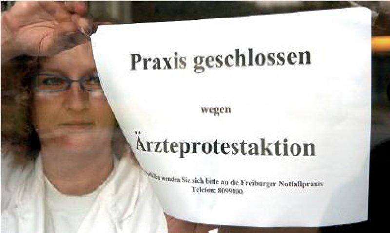 Bundesweit sollen am 4. Dezember Arztpraxen geschlossen bleiben. Foto: dpa