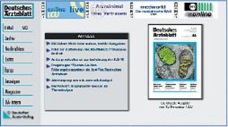 aerzteblatt.de im Jahr 1999
