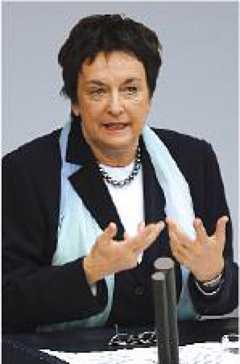 Höchste Priorität will Justizministerin Zypries Patientenverfügungen einräumen. Foto: ddp