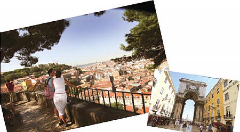 """""""Mit ist klar geworden, dass Lissabon richtig schön geworden ist"""", sagt João Soares. Mit seinen Motorradtouren erschließt er auch entlegene Winkel der Stadt. Fotos: Rainer Heubeck"""