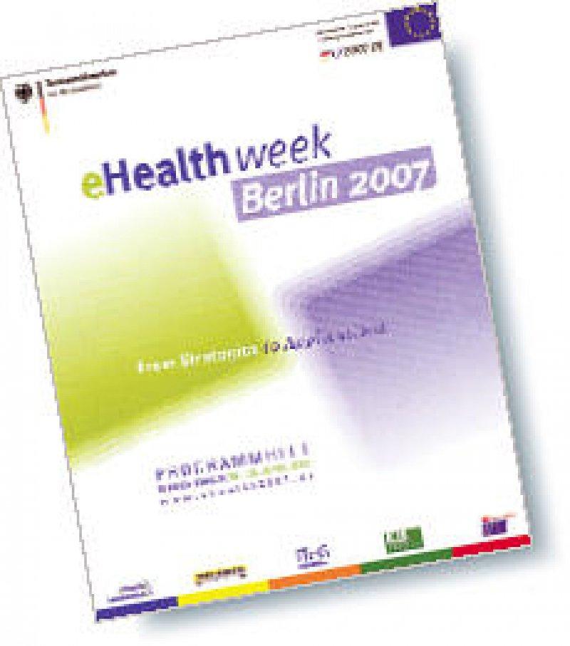 Unter dem Dach der europäisch ausgerichteten eHealth week finden zusätzlich vier zentrale Veranstaltungen zu IT und Telematik im deutschen Gesundheitswesen statt.