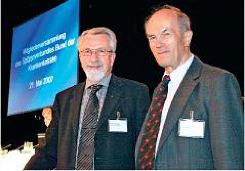 Der Errichtungsbeauftragte und sein Berater: Klaus Kirschner (l.) und Rechtsanwalt Werner Nicolay. Foto: Georg Lopata