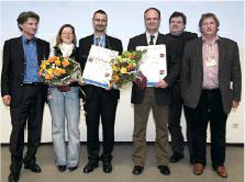 Jan Fröhlich, Angela Hermens, Gerhard Ristow, Marc Schneider, Michael Rösler und Manfred Döpfner (von links). Foto: signumpr