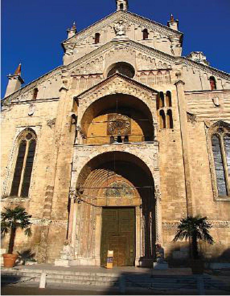 Eine der bedeutendsten Kirchen. Veronas: die Basilica di San Zeno. Foto: Mondial Tours