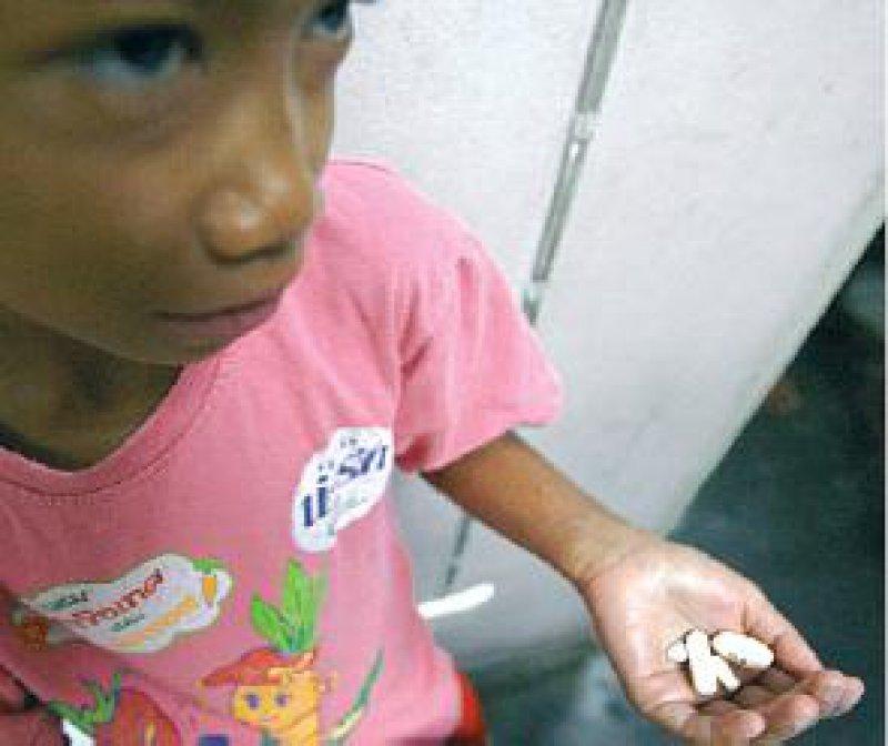 100 000 HIV-Infizierte, darunter viele Kinder, erhalten derzeit in Thailand eine antiretrovirale Therapie. Foto: dpa