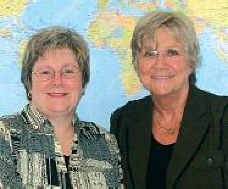 Die Kanadierin Shelley Ross wird Nachfolgerin von Waltraud Diekhaus (rechts). Foto: privat