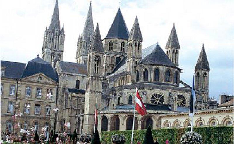 Im 11. Jahrhundert wurde mit dem Bau der Abbaye-aux- Hommes in Caen begonnen. Fotos: Christian Michael