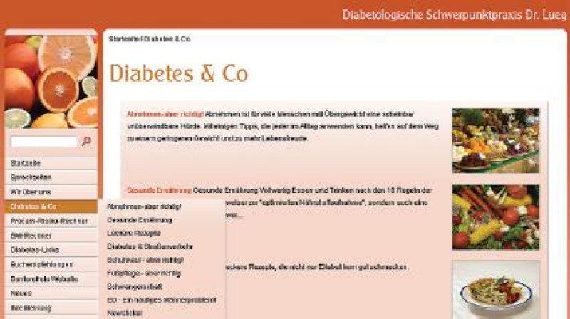 Sieger im Wettbewerb um die Qualitätsbuttons, an dem alle Arztpraxen in Niedersachsen teilnehmen können, wurde 2006 die diabetologische Schwerpunktpraxis des Internisten Dr. med. Andreas Lueg in Hameln (www.diabetespraxis-hm.de).