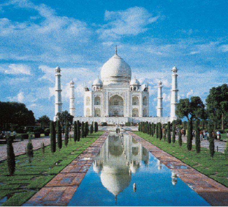 Wahrzeichen Indiens: das Tadsch Mahal. Foto: Studiosus Gruppenreisen GmbH