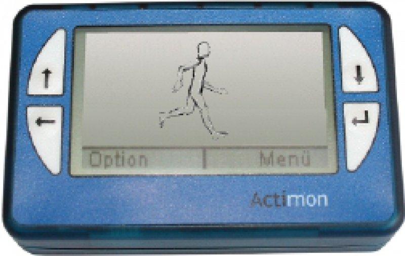 Fünf Aktivitätsklassen lassen sich mit dem Telemonitoring- Gerät erfassen. Foto:Actimon