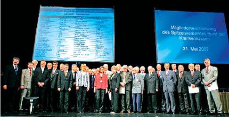 Auf den Weg gebracht: Mit der Wahl des Verwaltungsrats Ende Mai in Berlin nimmt der neue Spitzenverband der Krankenkassen Konturen an. Foto: Georg J. Lopata
