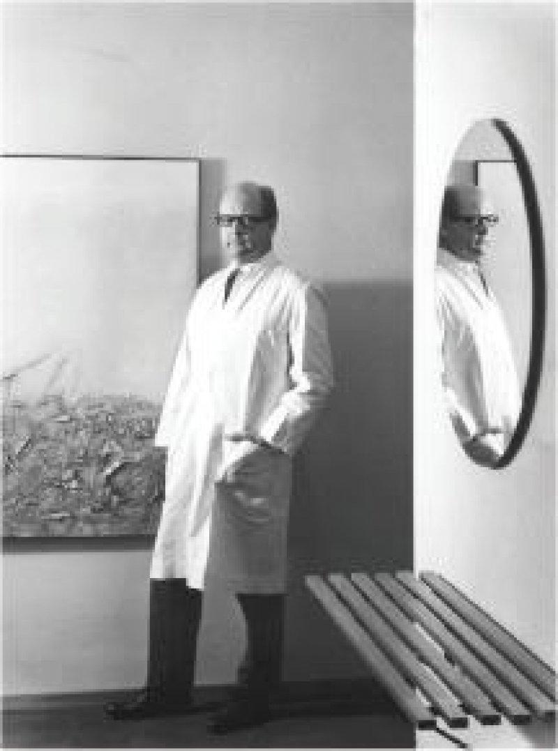 """Foto: Eta Lazi/Archiv Adolf Lazi Ottomar Domnick: """"Mit Halbheiten konnte ich nicht leben. Zeit ist für mich ein lebenswichtiger Faktor."""""""
