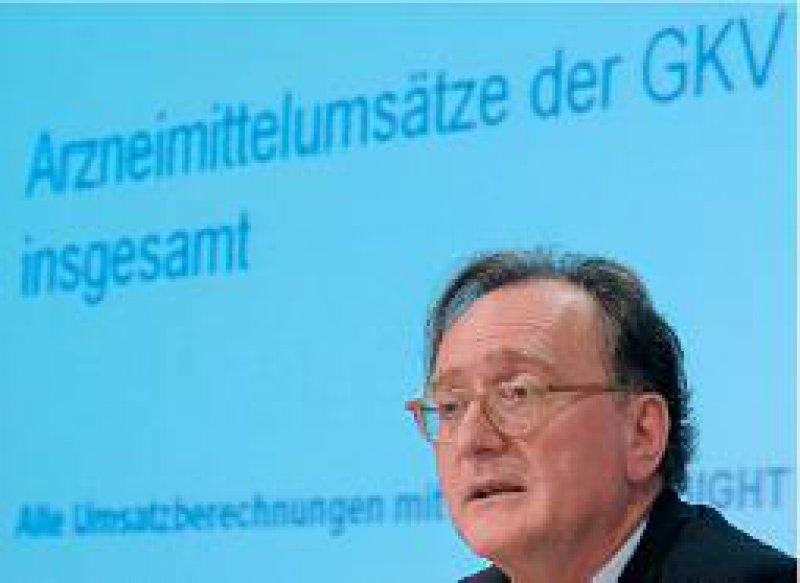 Bertram Häussler: Demografisch bedingter Mehrverbrauch von Medikamenten. Foto: vario images