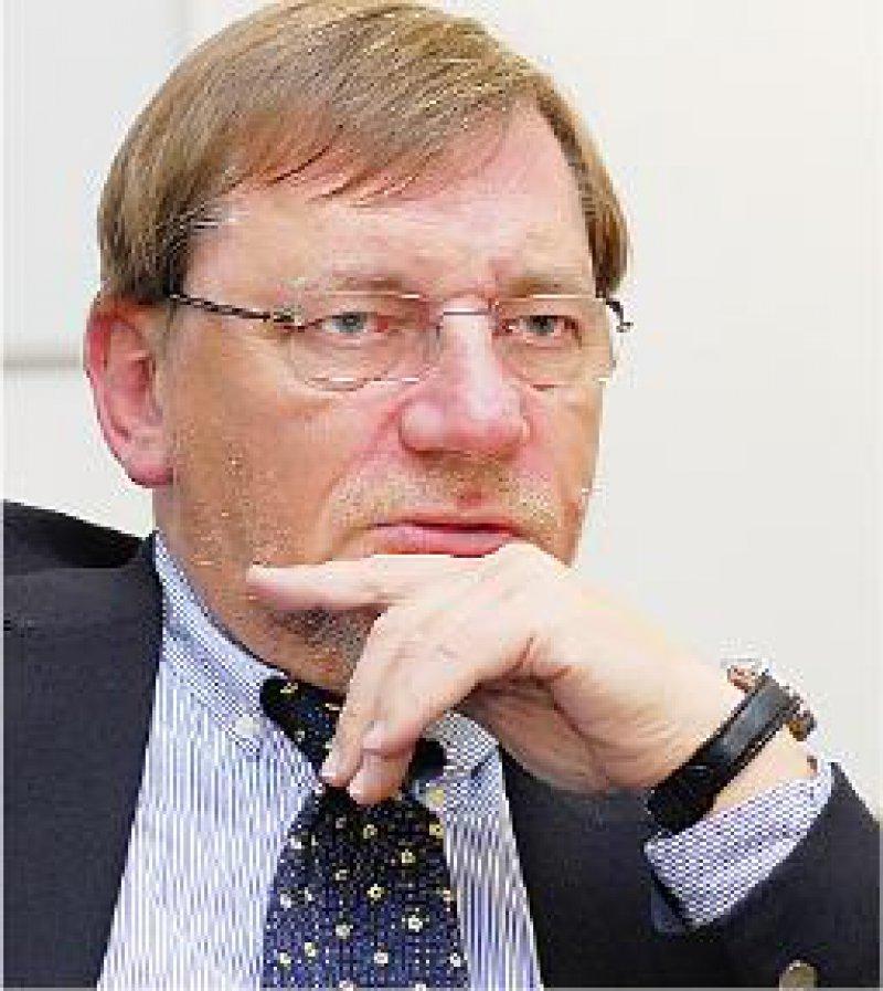 Foto: Jürgen Gebhardt Rücktritt: Ulrich Weigeldt zog die Konsequenzen aus dem Misstrauensvotum der Delegierten. Weigeldt legte sein Amt nieder.