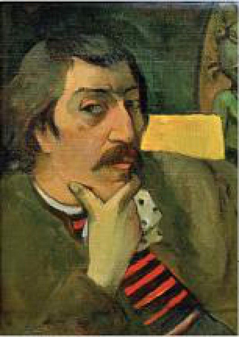 Paul Gauguin – Selbstbildnis. Foto: picture-alliance/AKG-images