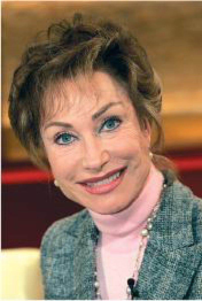 """Dr. Antje-Kathrin Kühnemann, Moderatorin der """"Sprechstunde"""" im Bayerischen Fernsehen: """"Prävention hat in jeder Sendung stattgefunden."""" Foto: dpa"""