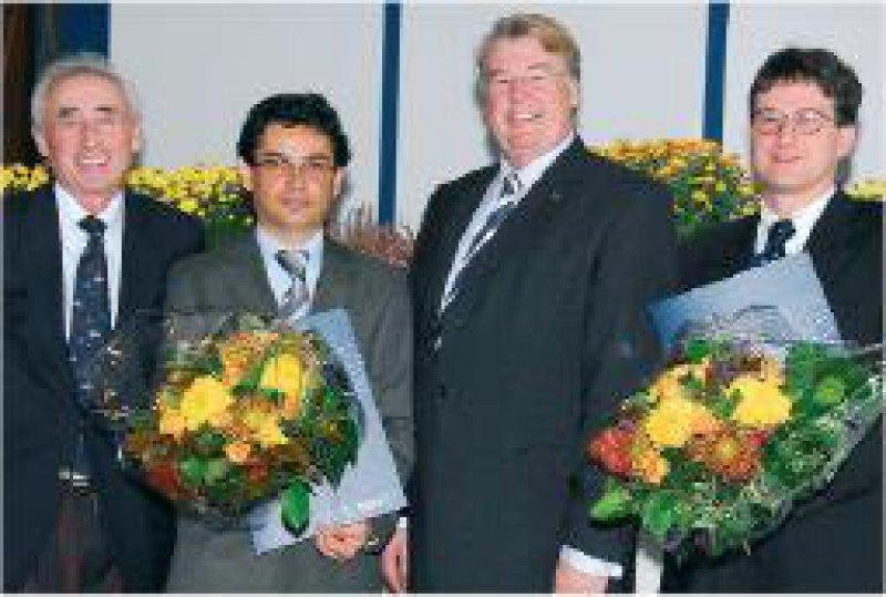 Hans Rieckert, Sakir Ün, Jörg Haasters und Thoralf Liebs (von links) Foto: Damp Holding AG