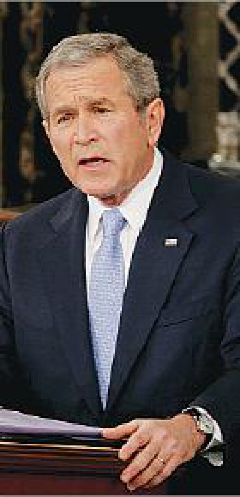 George W. Bush will den Staat so weit wie möglich aus der Gesundheitsversorgung heraushalten. Foto: dpa