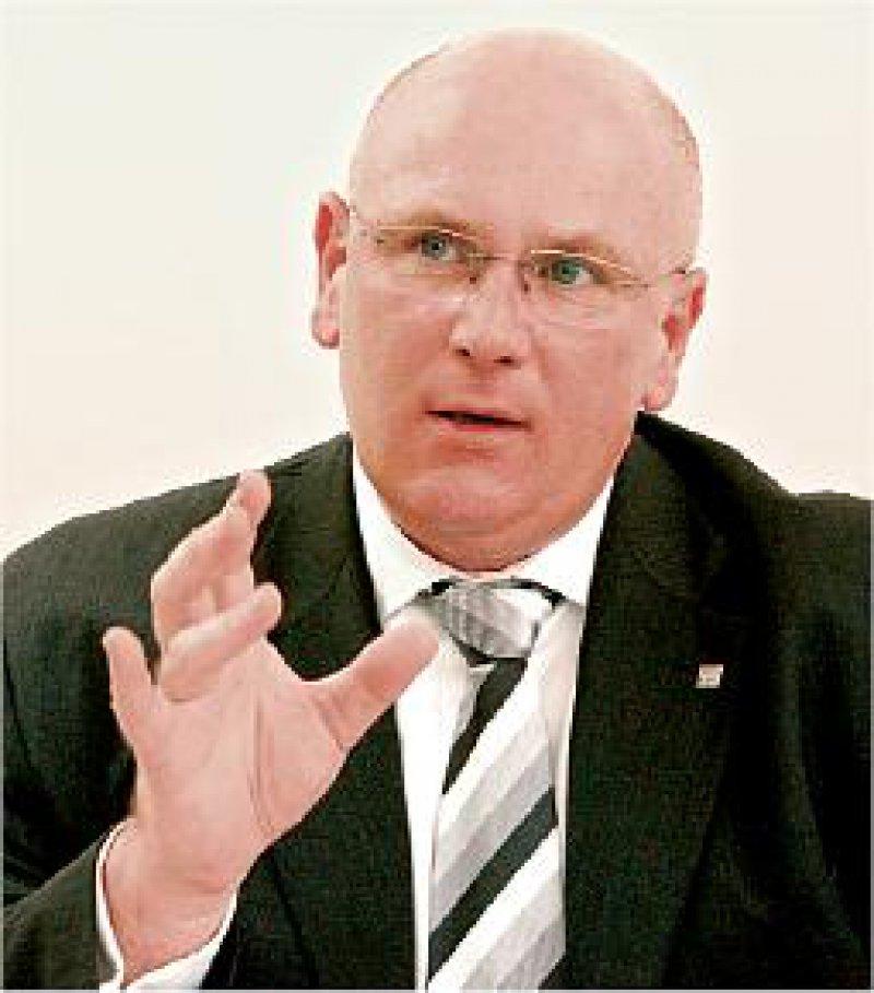 Optimistisch für die Zukunft: Andreas Köhler sieht nach heftigen Auseinandersetzungen um die Gesundheitsreform jetzt eine deutlich bessere Verhandlungsposition für KBV und KVen. Foto: Georg J. Lopata