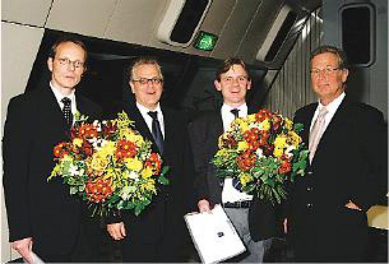 Gerhard Gründer, Hans-Jürgen Möller, Georg Winterer, Detlev Schwab (von links). Foto: privat