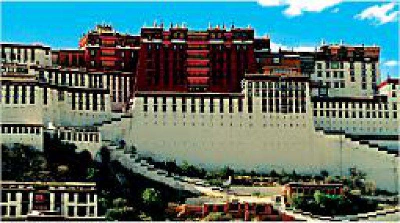 In Lhasa, der tibetischen Hauptstadt hat Sabriye Tenberken ihr Blinden Zentrum gegründet.