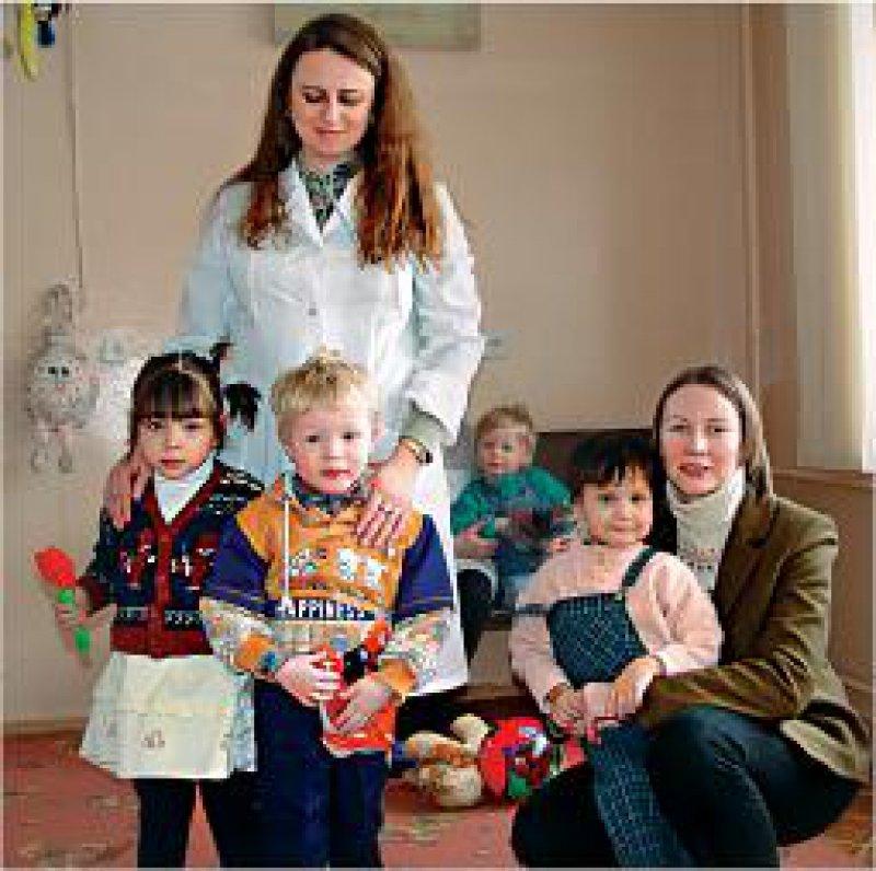 In Moskau betreut die Caritas seit mehreren Jahren HIV-positive Kinder in einem Krankenhaus. Fotos: Caritas