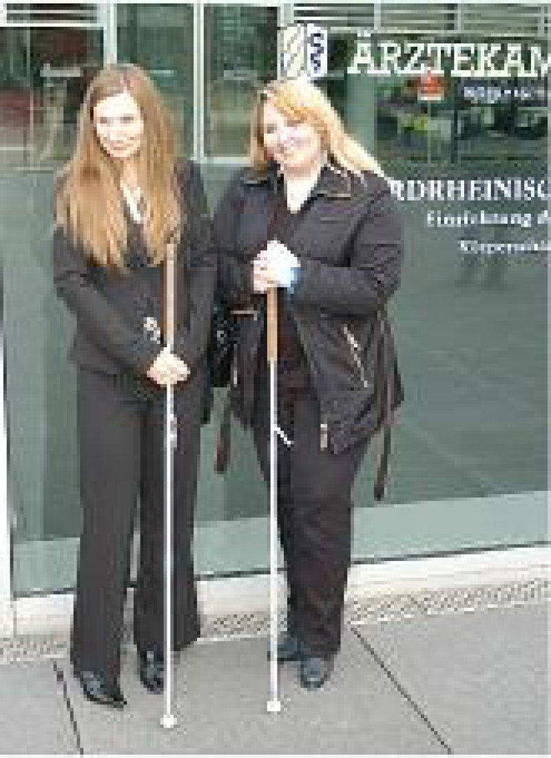 Geprüft: Die beiden ersten Absolventinnen der MTU-Qualifikation. Fotos: Leonie von Manteuffel