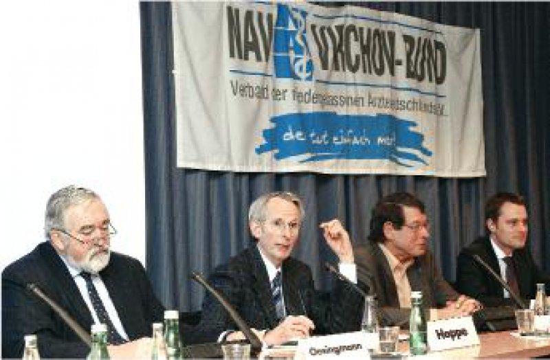 Auf der Hauptversammlung des NAV-Virchow-Bundes wurde in diesem Jahr über die Einschnitte in die Freiheiten der Ärzte diskutiert. Fotos: Georg J. Lopata