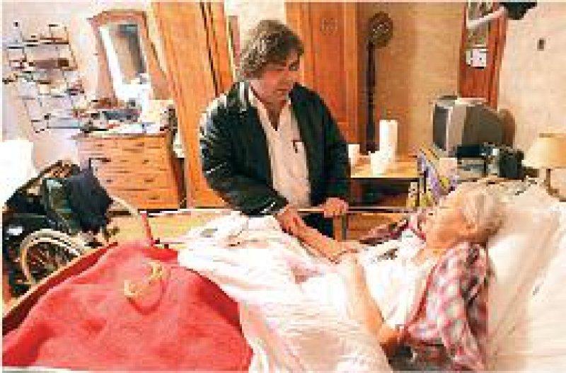 Spezialisierte ambulante Palliativversorgung: Seit der jüngsten Gesundheitsreform haben Betroffene darauf einen Anspruch. Foto: Superbild