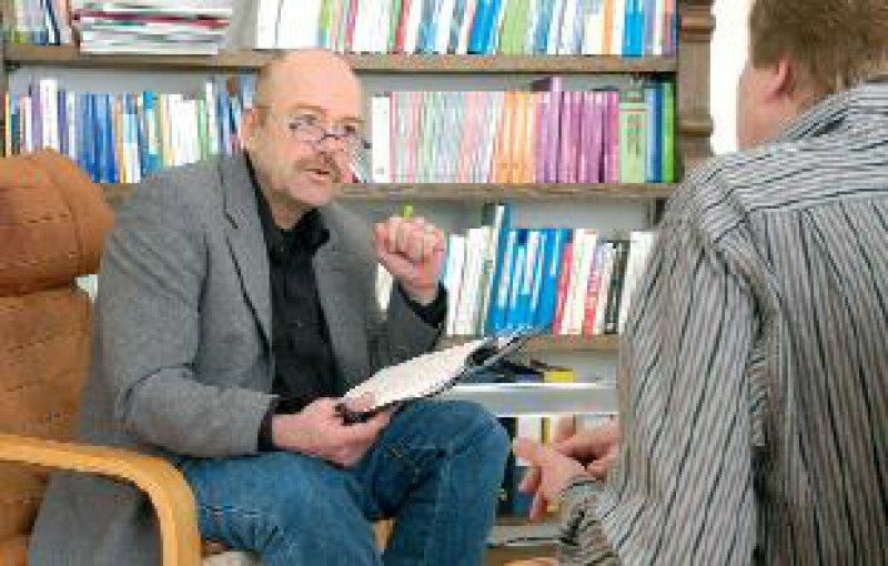 """""""Die sprechende Medizin darf nicht hinten überfallen"""", sagt Fritz Hohagen, neu gewählter Sprecher der STÄKO. Foto: Peter Wirtz"""