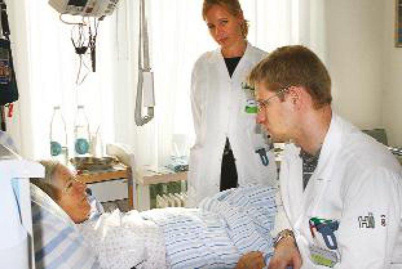 Zufriedene Patienten: In einer Umfrage wird die medizinische Betreuung als wesentlich besser eingestuft. Fotos: privat