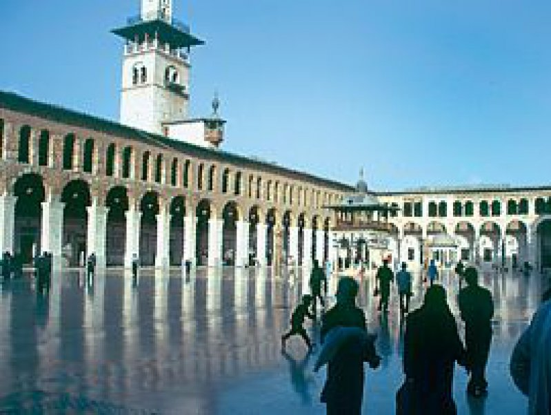 Omaijaden-Moschee: Im geografischen und spirituellen Mittelpunkt von Damaskus herrscht absolute Ruhe.