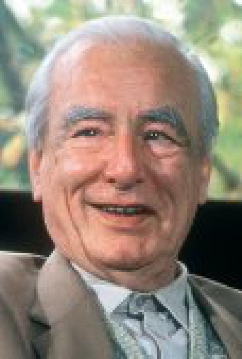 Ernst Ruska. Foto:dpa