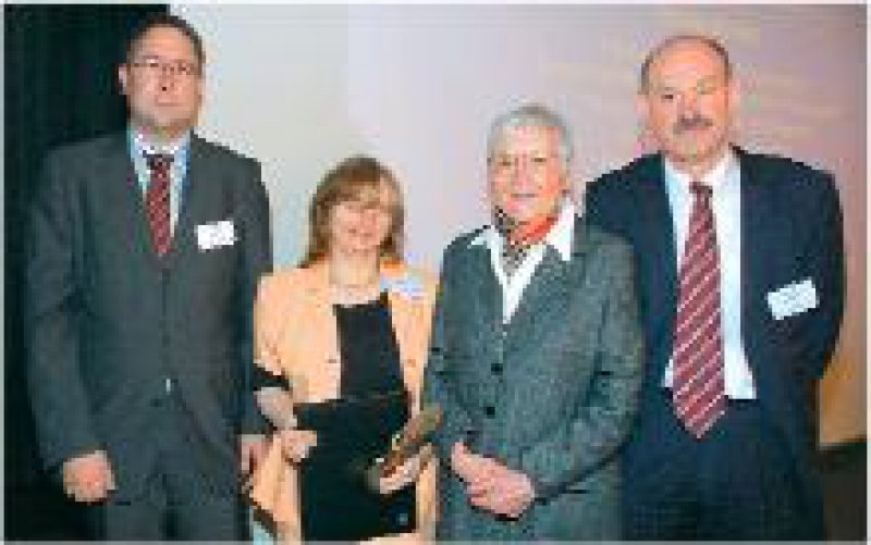 Jens Opalka, Karin Jurkat-Rott, Anne Kreiling, Reinhard Dengler (von links) Foto:Wolfgang Grysa