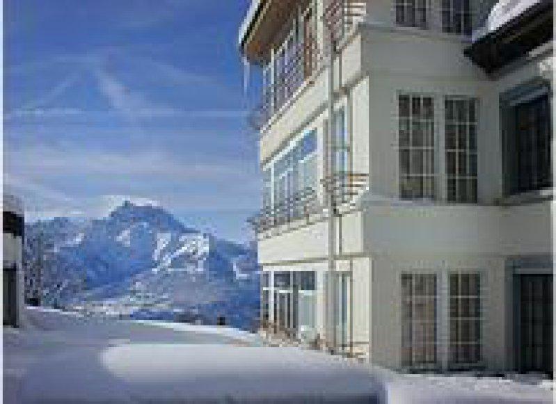 """""""Les Dents du Midi"""" – diese Bergkette der Alpen können die Schüler des Collège Alpin Beau Soleil jeden Morgen erblicken. Foto: Collège Alpin Beau Soleil"""