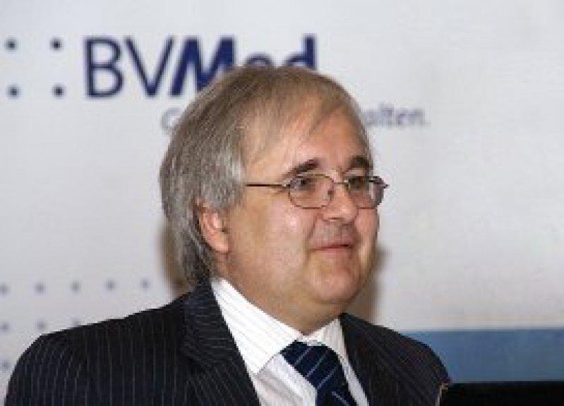 """Jürgen Wasem: """"Wir brauchen für die Versorgungsforschung zwingend so einen Anschub, wie er für die Public-Health-Forschung vor einigen Jahren erfolgt ist."""" Foto: BVMed"""